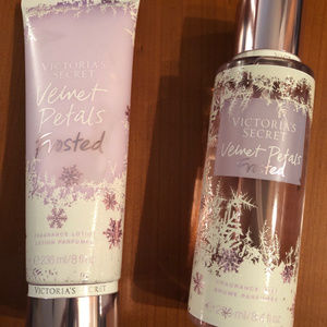 2 set:  VICTORIA'S SECRET Velvet Petals Frosted